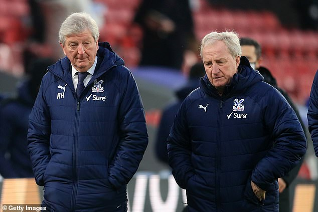 Roy Hodgson revealed assistant Ray Lewington 'almost had a heart attack' at half-time