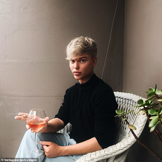 Honest: In May last year, Jack admitted to getting lip fillers and said he had finally found happiness in himself