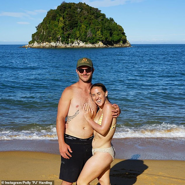 Wedding bells! The Kiwi media personality had spent the non-ratings period in her home country, and BJ proposed to her on December 22