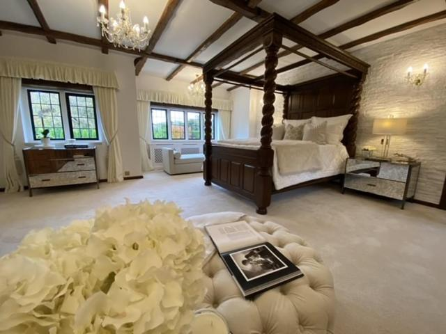 The couple were tempted to go over their budget as they are shown the property, which also features a £1 million Steinway cinema room