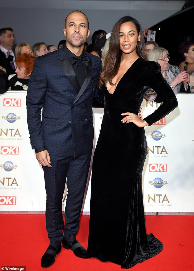 Battle won: Marvin and Rochelle Humes have won their battle to build a swimming pool at their £3.3million north London mansion. Pictured together in January