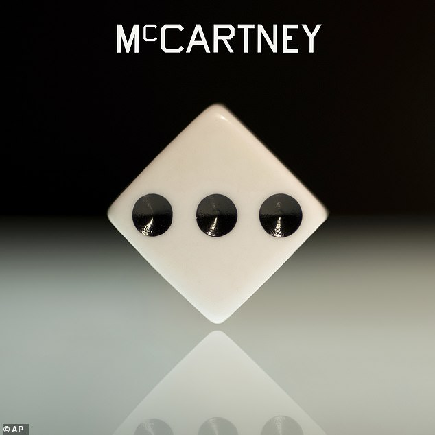 Success: McCartney III has managed to top the charts in Paul's native UK,becoming his first number one record in the country in more than 30 years