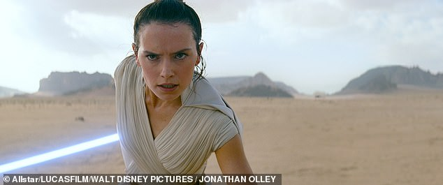 Starring role:When asked 'Why her?' in regards to her Star Wars success, she said: ''I know there were a thousand other actresses who could have done it'