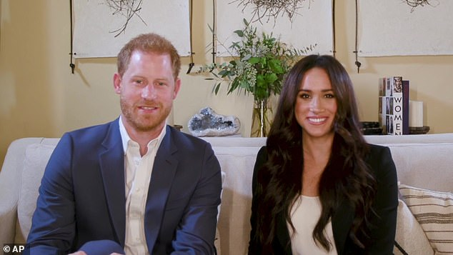 Prince Harry and Meghan Markle Prince Harry and Meghan Markle Markle has revealed that she 'loves' Matt Haig's best-selling novel Notes on a Nervous Planet, which deals with how technological advances and social media can exacerbate underlying mental health issues. Pictured, hosting a special Time100 talk Tuesday, Oct. 20, 2020 Markle has revealed that she 'loves' Matt Haig's best-selling novel Notes on a Nervous Planet, which deals with how technological advances and social media can exacerbate underlying mental health issues. Pictured, hostinga special Time100 talk Tuesday, Oct. 20, 2020