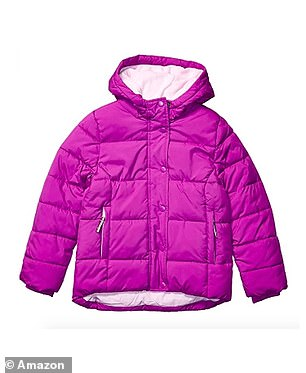 From bright purple to navy with foil stars, the coats are cute as well as comfortable