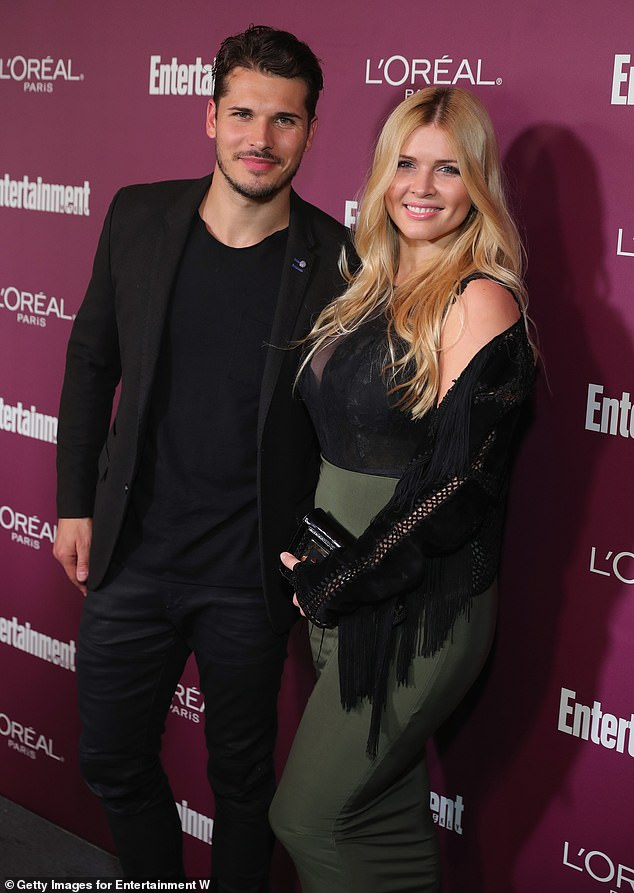 The former couple, pictured in 2017 in LA, are parents to Olivia, 10, and Zlata, three.