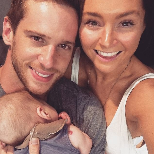 Past:Dan, who plays Heath Braxton in Home and Away, married comedy writer Marni in 2012. They welcomed son Archie Grason in 2014, before splitting in 2016