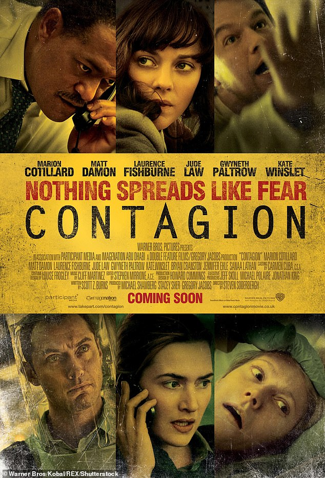 Rental:As the virus started to spread throughout China in January, Contagion cracked the top 10 on the iTunes movie rental charts, according to The Hollywood Reporter
