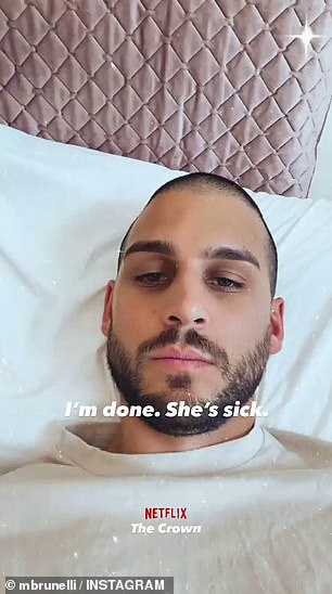 MAFS' Michael Brunelli sparks rumours that his girlfriend Martha Kalifatidis is pregnant AGAIN