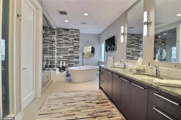 Lavish: The house also has five modern bathrooms and is perfect for guests