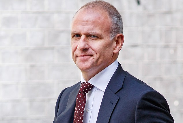Shamed: Tesco, whose former boss Dave Lewis (pictured) was knighted in the Queen's New Year Honours, has been named and shamed for underpaying 78,199 workers by more than £5m