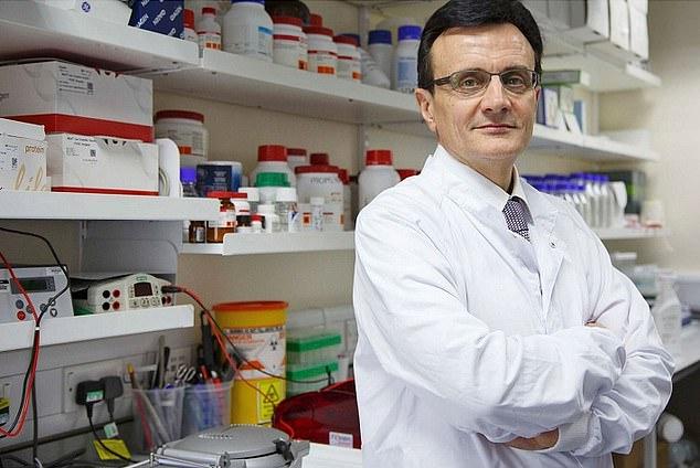 Hero: Astrazeneca boss Pascal Soriothas put the company - and Britain - at the forefront of science again through its groundbreaking vaccine partnership with Oxford University