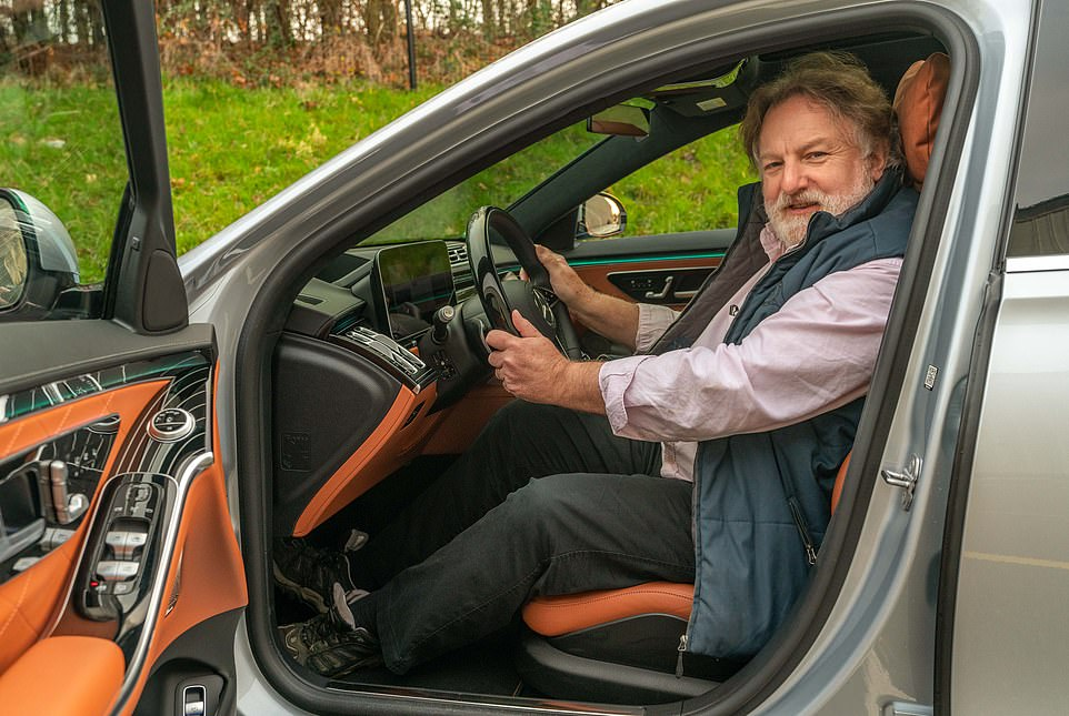 Behind the wheel of the newMercedes-Benz S-Class, specifically the long-wheelbase S500 4Matic L model: Ray Massey saysthis is definitely a car for grown-upsand can change its style to suit your mood