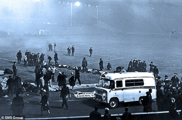 The disaster was one of the darkest days in Rangers' history when 66 fans died