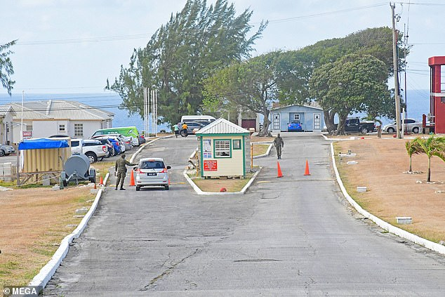 The Paragon Isolation Centre on Barbados where Zara Holland and boyfriend Elliot Love were taken after being arrested