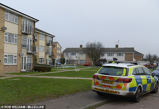 Mr Fletcher was pronounced dead at the home on Worcester Drive in Rayleigh on January 1