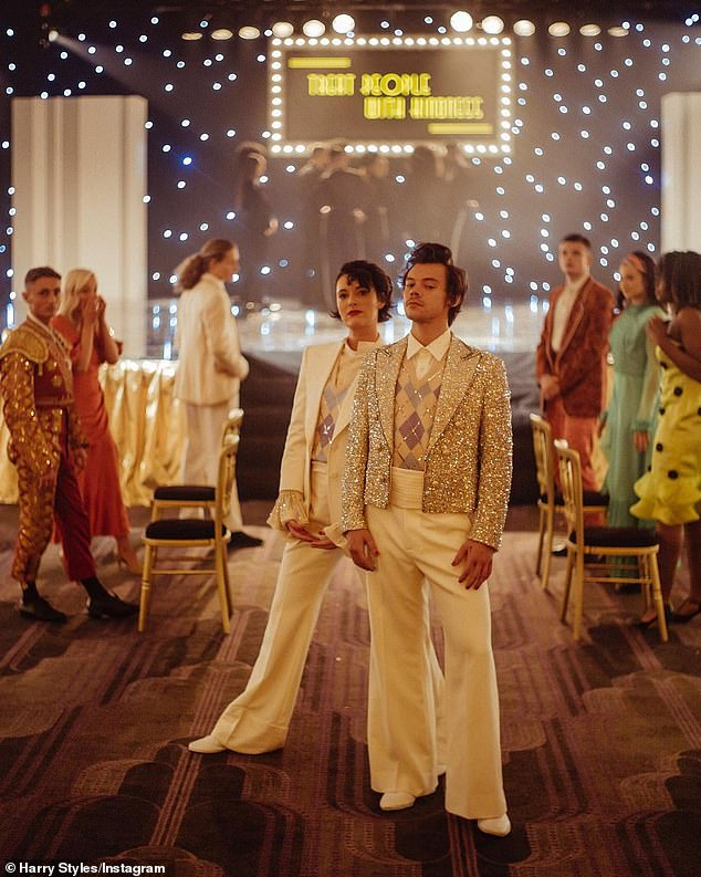 Let's dance! Harry Styles has kicked off 2021 with a bang, releasing his new music video for Fine Lines track Treat People With Kindness which co-stars Phoebe Waller-Bridge