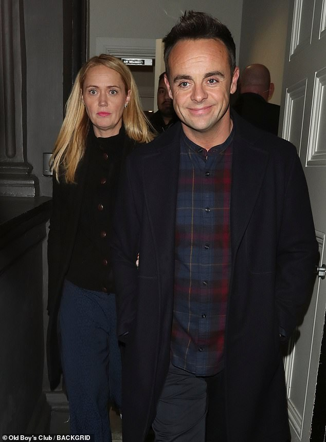 Wedding time! Both Ant and Anne-Marie have been married before, with the personal assistant separating from her husband Scott in October 2017 (pictured in 2019)