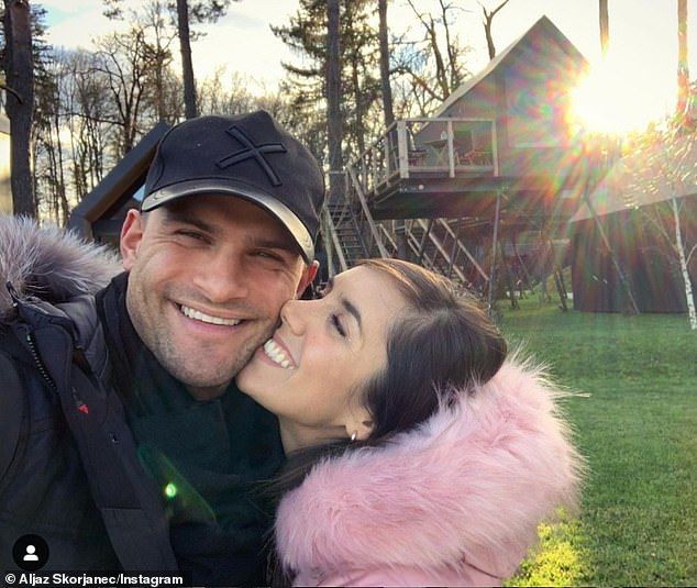 Big decision:Janette, who married her longtime partner in 2017, admitted that it was a 'scary' decision to make because she relies on her body for her job as a dancer