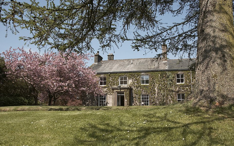 Space and grace: Last year, Farlam Hall was sold to an American couple - regular guests for more than 30 years