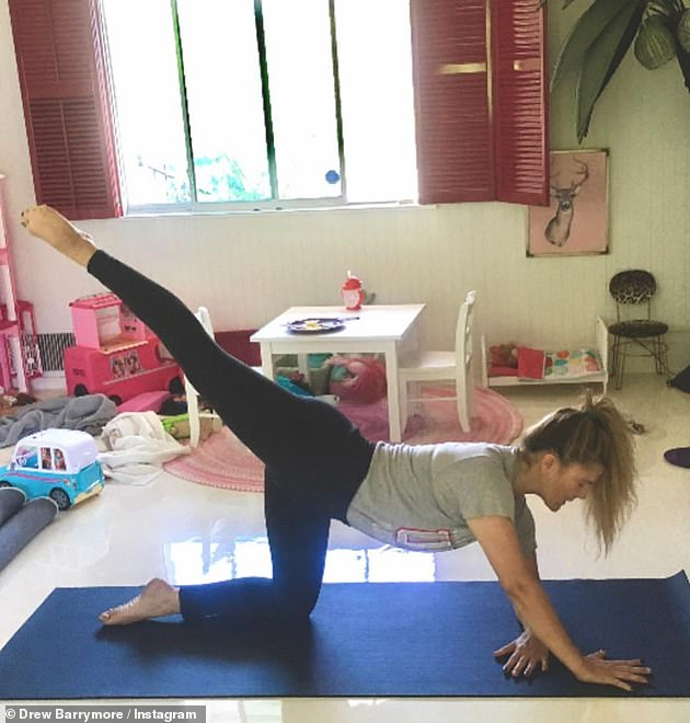 Over the years, she pointed out that exercising has jumped from 'like, number 24 on' her list of priorities to 'fourth on the list'