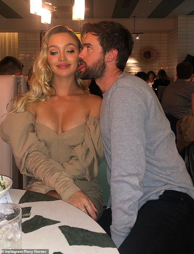 Relationship:The Bad Education actor has since moved on from the awkward hiccup with the American singer and is currently loved up with model girlfriend Roxy Horner, 29