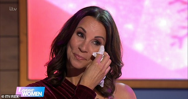 Leaving party: Saira's announcement comes just two weeks after Andrea McLean also departed from the show (pictured)