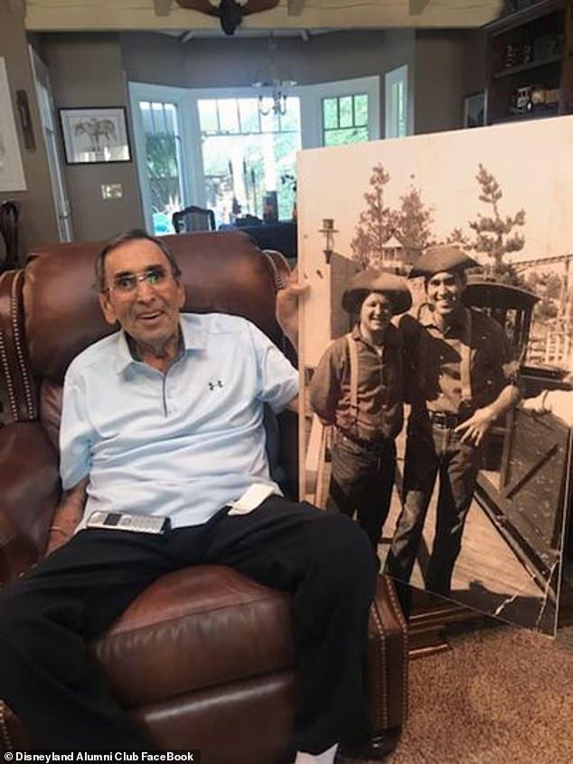 Disney Legend Ron Dominguez known as 'Mr. Disneyland' has passed away at 85