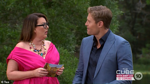 New location: I'm A Celebrity premiered on Sunday night, with producers swapping the South African jungle in favour of a camp in Queensland. Hosts Julia Morris and Chris Brown