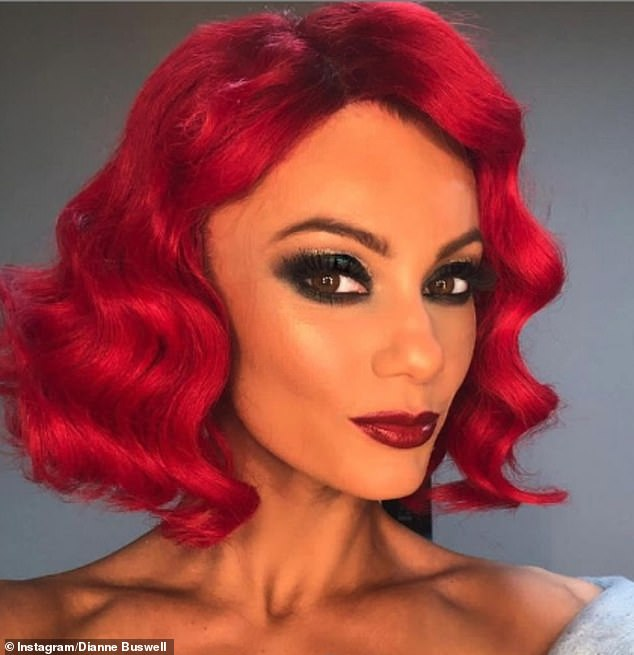 Loved-up:Dianne has been going strong with her boyfriend Joe since 2018, where Joe competed with Dianne on Strictly and placed as a finalist