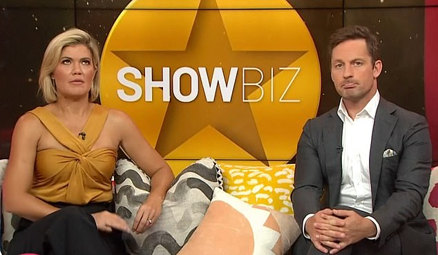 No answer: Hosts Sarah Harris and Tristan MacManus called the showbusiness veteran live on air to discuss her on-stage fall, but she didn't answer the phone