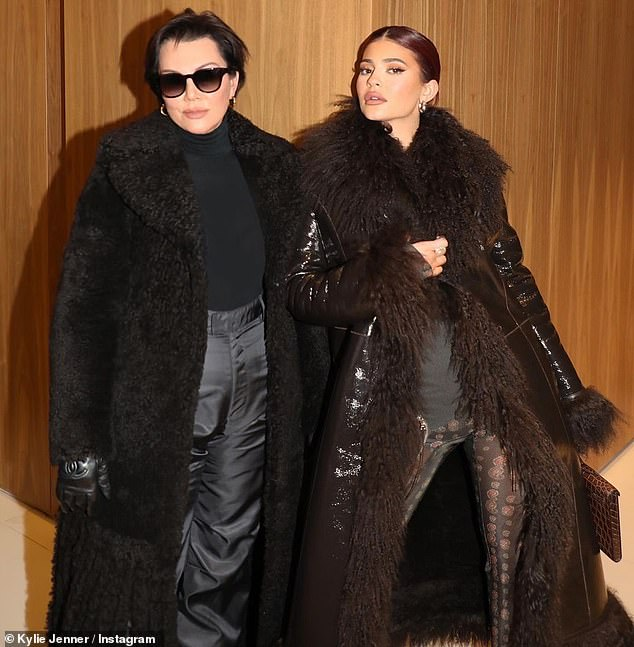 On the town: The posse has been spotted out and about on the popular destination, including shopping trips at Prada and a New Year's Eve dinner at sushi hotspot Matsuhisa