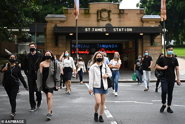 NSW has introduced a mask mandate for indoor environments, including public transport and shops, after outbreaks in Berala and Avalon