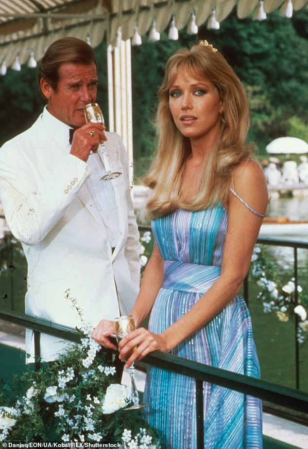 Bond girl:She played geologist Stacey Sutton alongside Roger Moore in his seventh and final James Bond movie