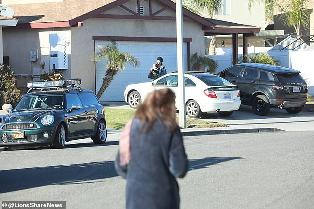 She had been lying low at her family's $389,000 home in Piru, California north of LA