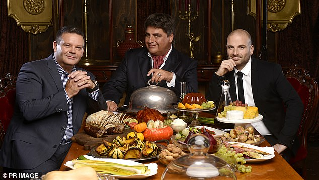 Why they left: Matt Preston (centre), Gary Mehigan (left) and George Calombaris (right) quit the reality cooking series in 2019 after a reported pay dispute with Channel 10