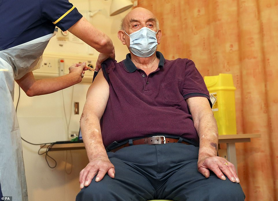 82-year-old dialysis patient becomes first Brit to get Oxford's Covid jab