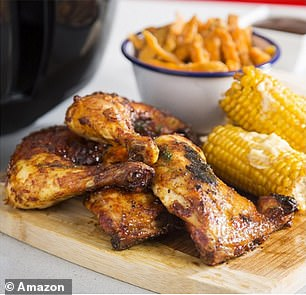 You can use the air fryer on awide range of ingredients, including vegetables, chicken, chips and cakes