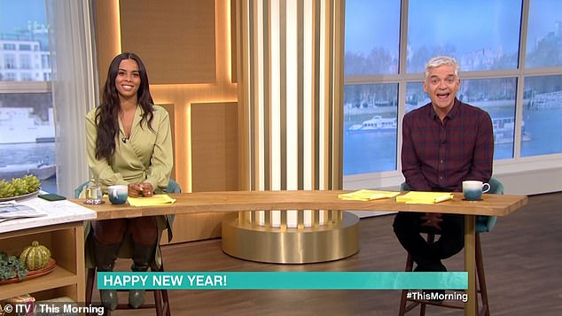 Missing: This Morning viewers were left irked on Monday as Phillip Schofield announced Holly Willoughby would be missing the show to spend an 'extra few days with the family'