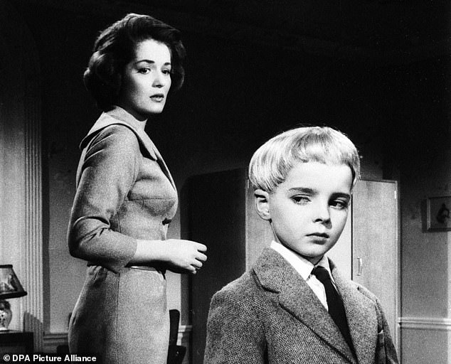 Barbara Shelley and Martin Stephens in the 1960 classic Village of the Damned