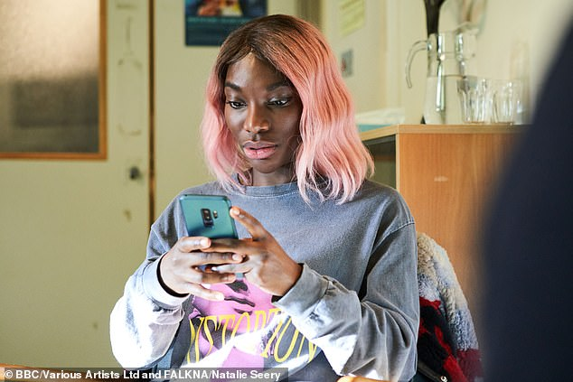 Second female doctor? Michaela Coel and Richard Ayoade have now emerged as the bookies' favourites to replace Jodie Whittaker as the 14th Doctor Who (pictured in I May Destroy You)