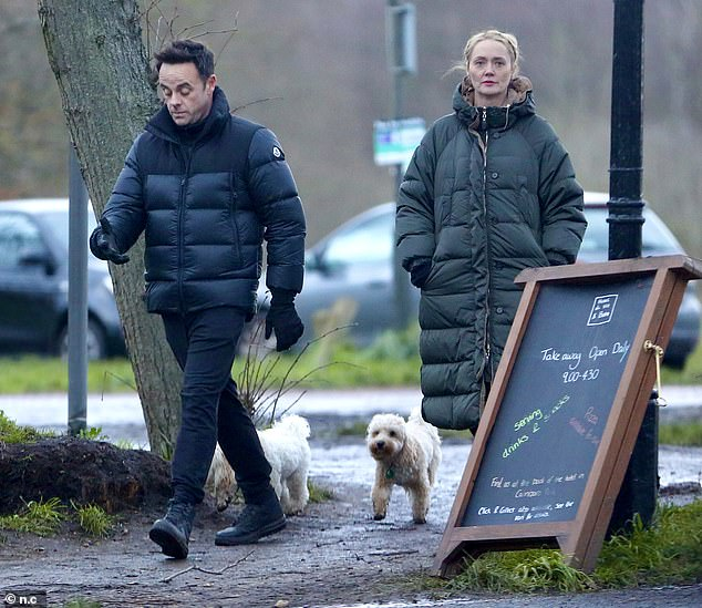 Newly-engaged:It was revealed on Friday night that the presenter, 45, had got engaged to the personal assistant, 43, after being linked since March 2018