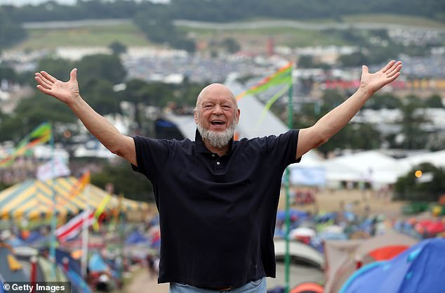 Glastonbury Festival founder Michael Eavis (pictured in 2013), said he was 'so sorry' to have to cancel the event for the second year in a row