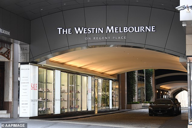 A contract with The Westin Melbourne was suddenly cancelled, prompting Tennis Australia and the Victorian Government to scramble to find a back-up hotel
