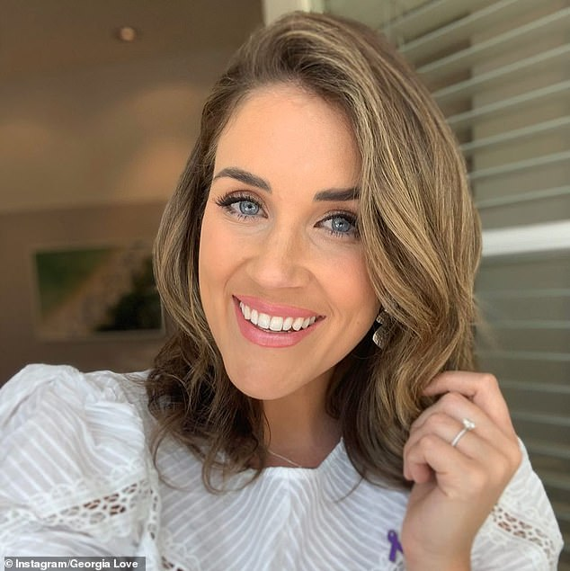Georgia Love shares a telling clue about her wedding dress as she prepares to marry Lee Elliott