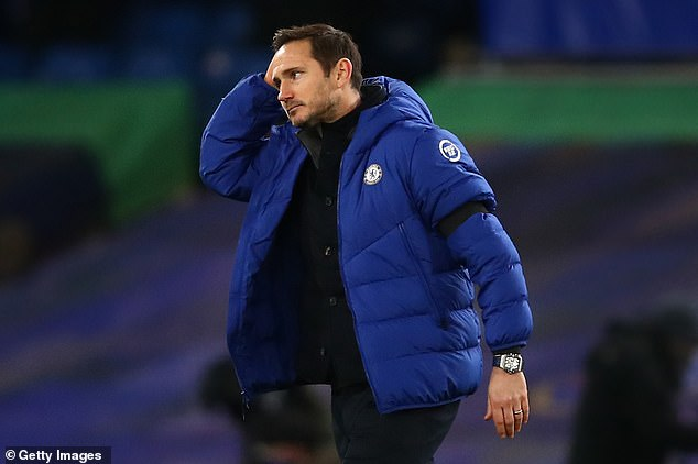 Frank Lampard is under considerable pressure following four defeats in six matches