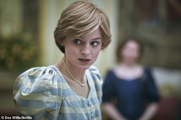 Show: Emma made her debut in The Crown's fourth series, playing a younger version of Princess Diana, as the show documented her turbulent marriage to Prince Charles