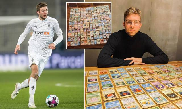 Germany World Cup winner Christoph Kramer displays his collection of the original 151 Pokemon cards | Daily Mail Online