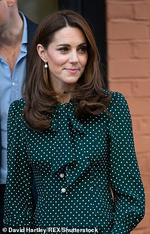 Kate Middleton on a trip to The Passage in Chitra, 2018