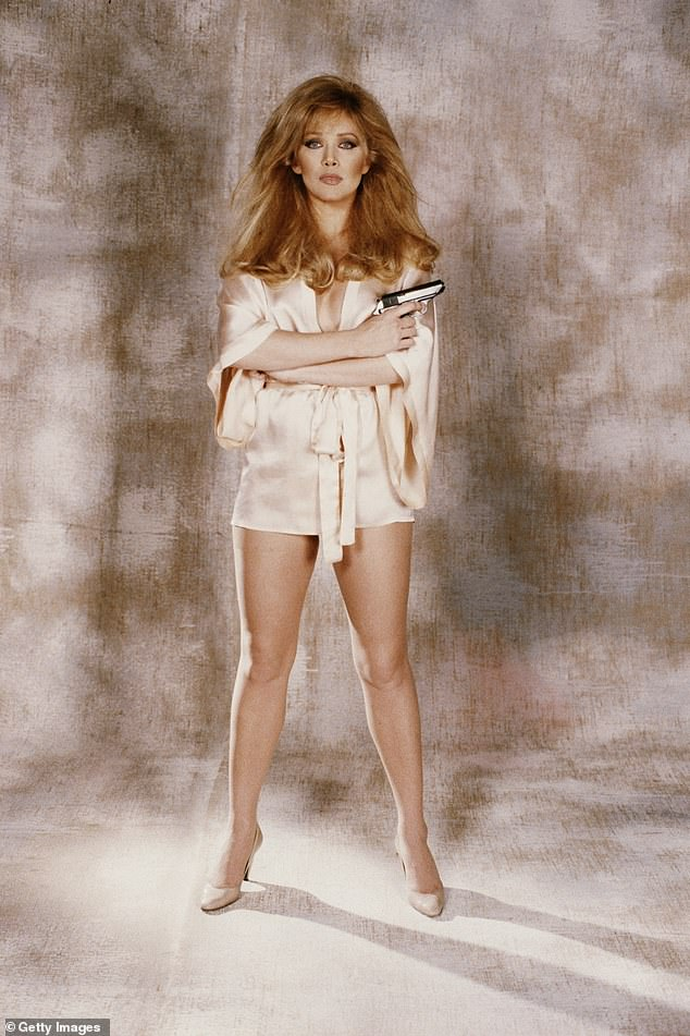 The American actress starred as Stacey Sutton in the James Bond film 'A View To A Kill' in 1984